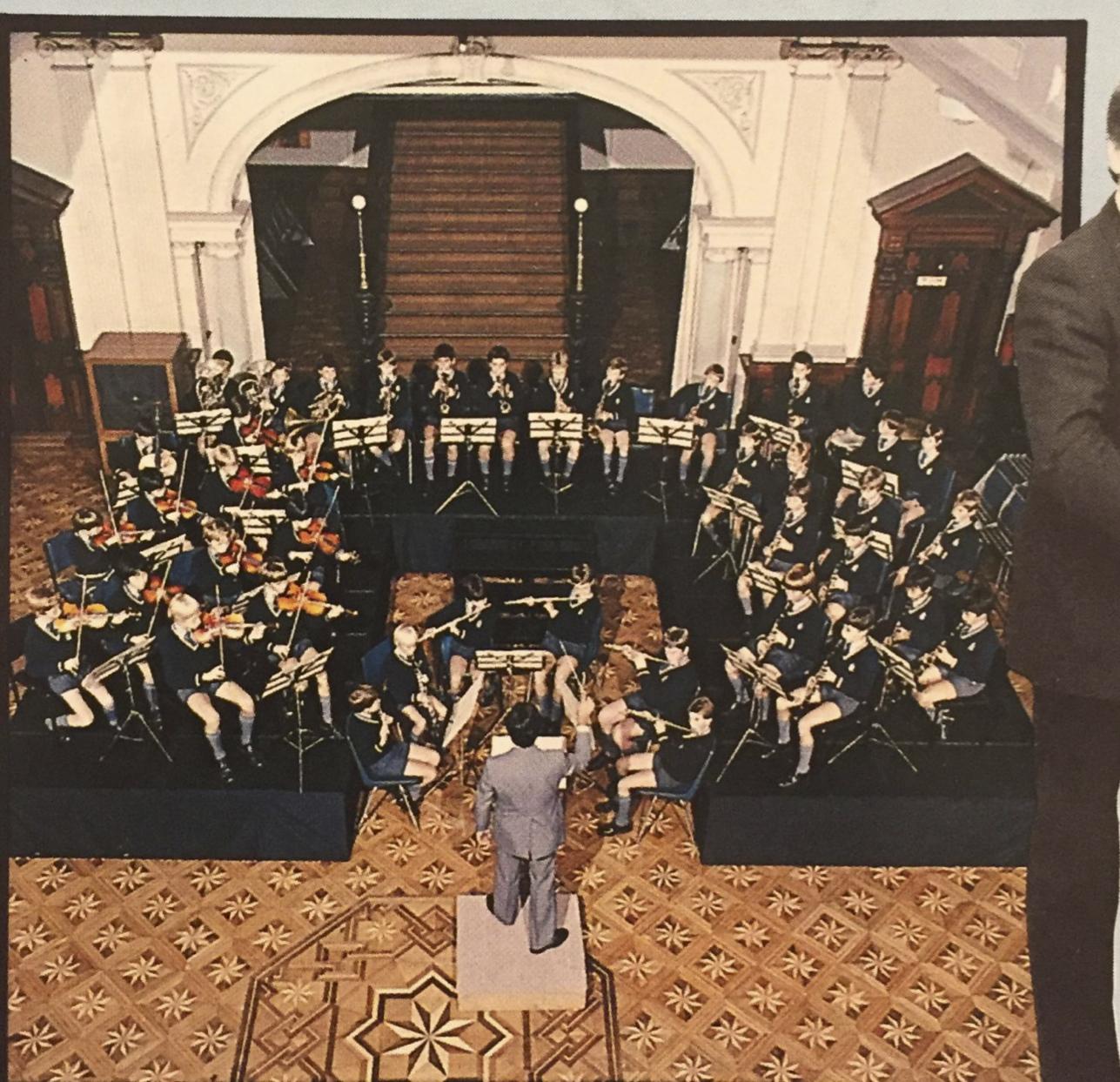 School concert vintage #flexistage